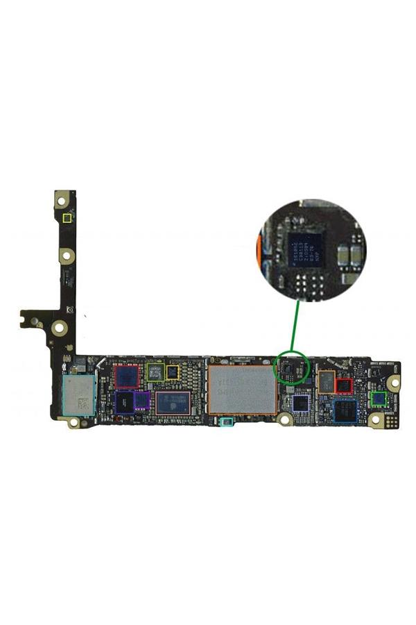 Замена микросхемы U2 iPhone 6