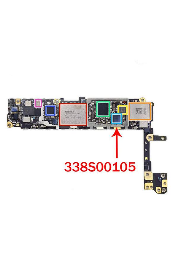 Замена аудиокодека iPhone 6