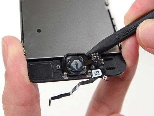 Замена кнопки хоум в iPhone 5s