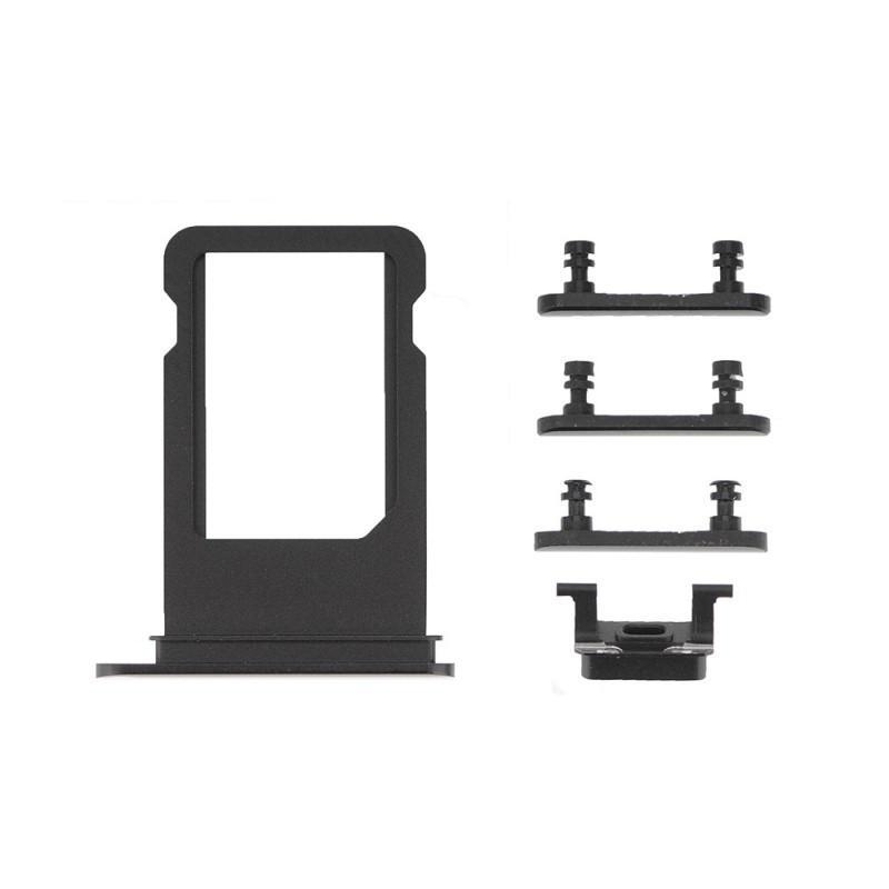 Замена кнопки переключения виброзвонка iPhone 7 plus