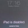 Снятие пароля iPad mini 2