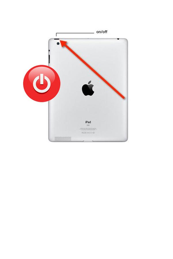Замена кнопки включения iPad 3