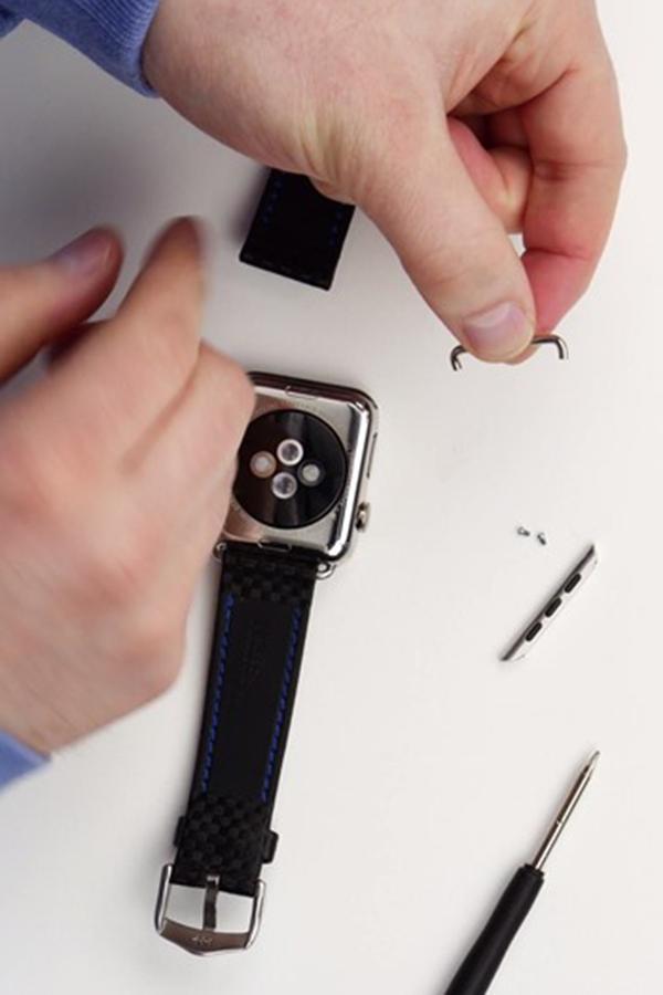 Замена ремешка Apple Watch